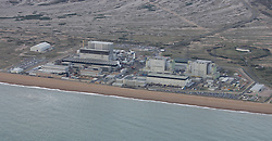 Image &copy;Licensed to i-Images Picture Agency. Aerial views. United Kingdom.<br /> Nuclear power station at Dungeness, Kent. Picture by i-Images