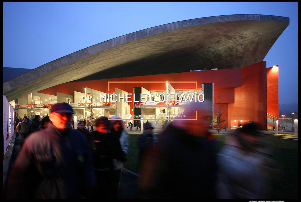 Torino architettura olimpica..Palavela....