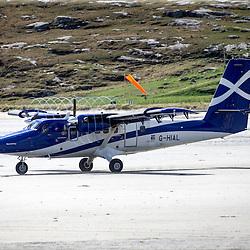 Barra airport, Island of Barra, Outer Hebrides, Scotland