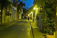 Colorful Cartagena´s  Street Life.