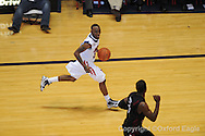 Ole Miss's Chris Warren (12) vs South Carolina on Wednesday, January 20, 2010 in Oxford, Miss.