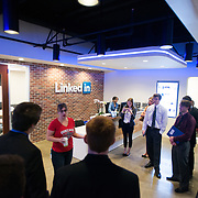 Visiting LinkedIn as part of the San Francisco Trek 2014. (Photo by Gonzaga University)