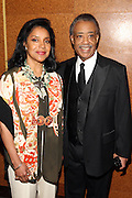 "15 November 2010- New York, NY- l to r: Phylicia Rashad and Rev. Al Sharpton at The National Action Network's 1st Annual Triumph Awards honoring ""Our Best"" in the Arts, Entertainment, & Sports held at Jazz at Lincoln Center on November 15, 2010 in New York City. Photo Credit: Terrence Jennings"
