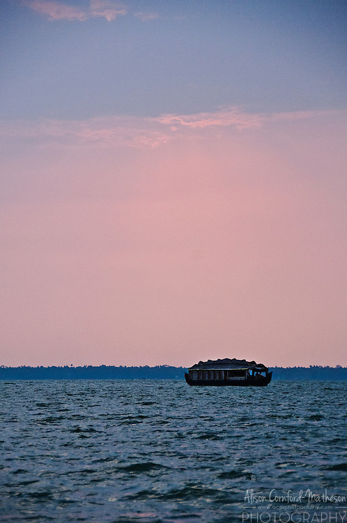 Kettuvallam are traditional houseboats now used primarily for tourist on the backwaters of Kerala, India