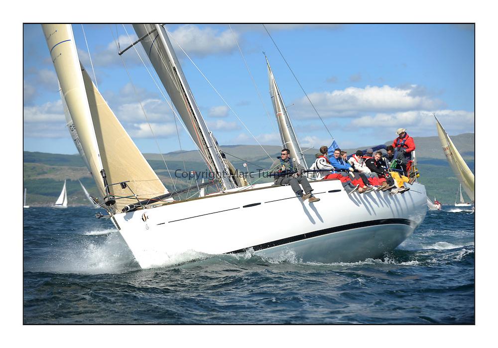 Brewin Dolphin Scottish Series 2012, Tarbert Loch Fyne - Yachting - Day 3 ..GBR4770R , Lady Rhona , Iain Cameron , CCC/FYC , First 47.7.