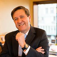 Lorenzo Gazmuri Schleyer, gerente general de Copec. Copec, 80 años. Santiago de Chile. {date} (©Alvaro de la Fuente/Triple.cl)