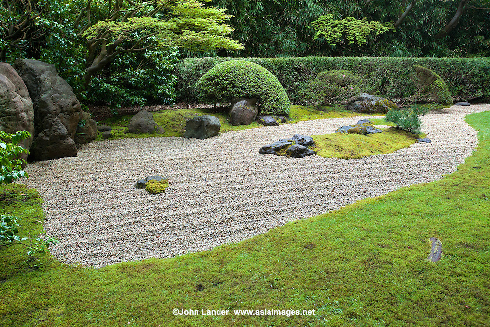 zen garden at japanese tea garden golden gate park john lander photography. Black Bedroom Furniture Sets. Home Design Ideas