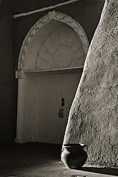 San Francisco de Asis church in Ranchos de Taos, New Mexico.
