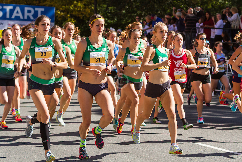 Tufts Health Plan 10K for Women, New Balance Boston, Keely McGuire, Nikki Long