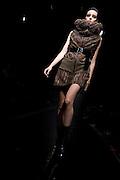 Designer Hiroko Ito's (HUSUI) fashion show at Laforet Museum in Harajuku. Tokyo 25 March 2009