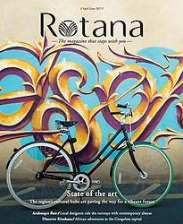 Rotana Magazine; detail of graffiti at Alserkal Avenue in Dubai.