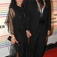 Smokey Robinson and wife Francise<br />