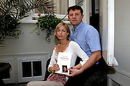 "amsterdam - Hotel Ambassade. Book promotion ""Madeleine"" from couple Gerry and Kate McCann. copyright robin utrecht"
