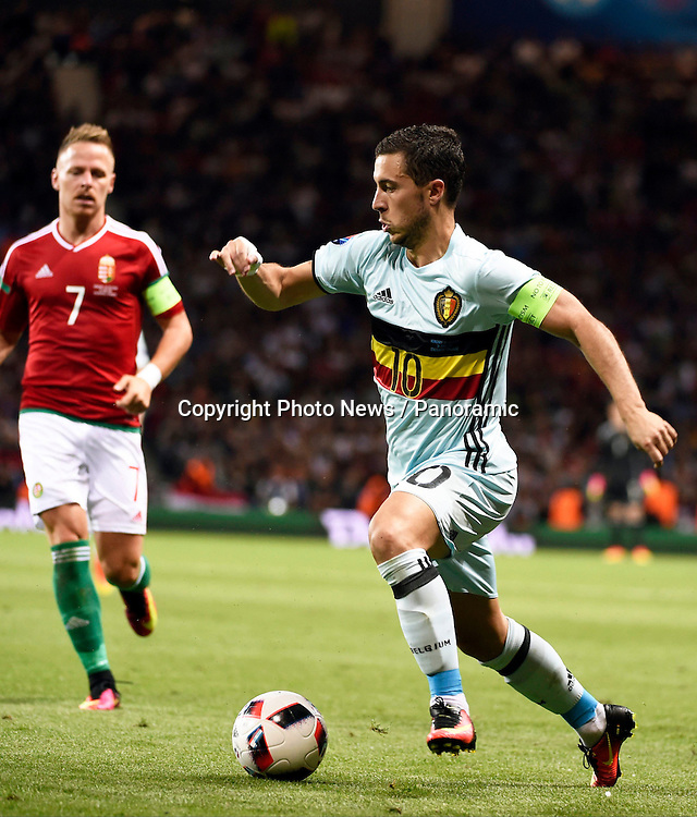 TOULOUSE, FRANCE - JUNE 26 :  Eden Hazard midfielder of Belgium