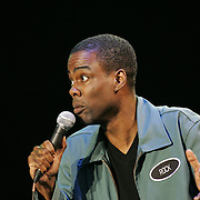 Chris Rock performs during the second day of the 2008 Bonnaroo Music & Arts Festival on June 13, 2008 in Manchester, Tennessee. The four-day music festival features a variety of musical acts, arts and comedians. Photo by Bryan Rinnert