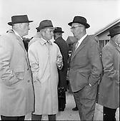 1961 - Horse trainer Vincent O'Brien at the Leopardstown Races