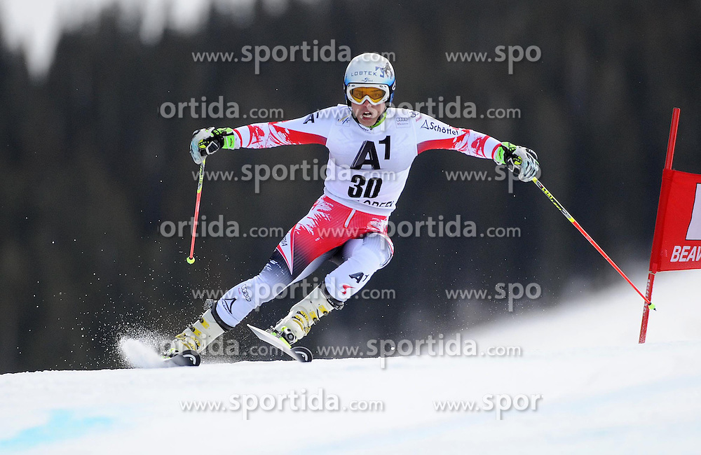 07.12.2014, Birds of Prey Course, Beaver Creek, USA, FIS Weltcup Ski Alpin, Beaver Creek, Herren, Riesenslalom, 1. Lauf, im Bild Marcel Mathis (AUT) // Marcel Mathis of Austria in actionduring the 1st run of men's Giant Slalom of FIS Ski World Cup at the Birds of Prey Course in Beaver Creek, United States on 2014/12/07. EXPA Pictures © 2014, PhotoCredit: EXPA/ Erich Spiess