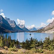 Montana: Glacier NP: Saint Mary hikes: Baring Creek, Piegan Pass, Siyeh Pass