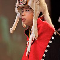 AFN Conference, Eagan Convention Center, Anchorage, Alaska, 2006, Tlingit Dance Group