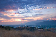 San Gabriel Valley Sunset, Glendora, California