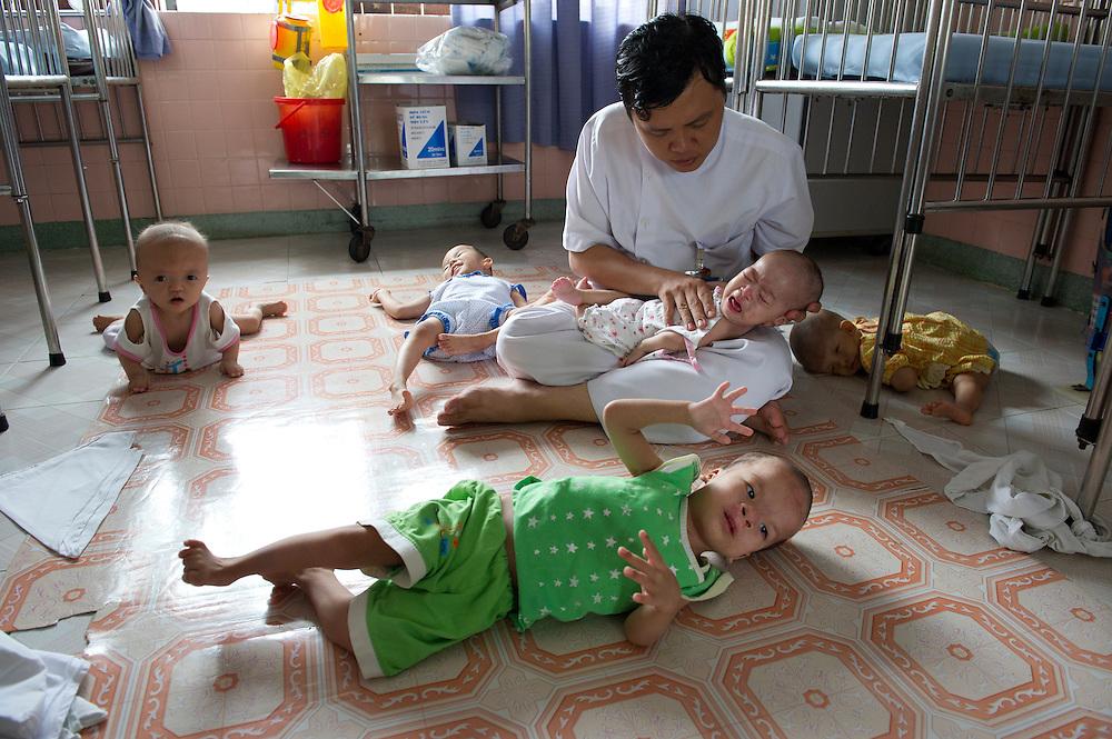 Nguyên Biên Thuý - Therapist - Peace Village at the Tu Du (Freedom) Obstetrics and Gynaecology Hospital in Ho Chi Minh City, Vietnam