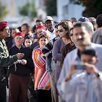 Tunis, Tunisia 23 October 2011<br /> Tunisians wait to vote in a polling station during the Constituent Assembly election.<br /> Photo: Ezequiel Scagnetti &copy; European Union