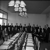 Television Commission first meeting .09/04/1958 .