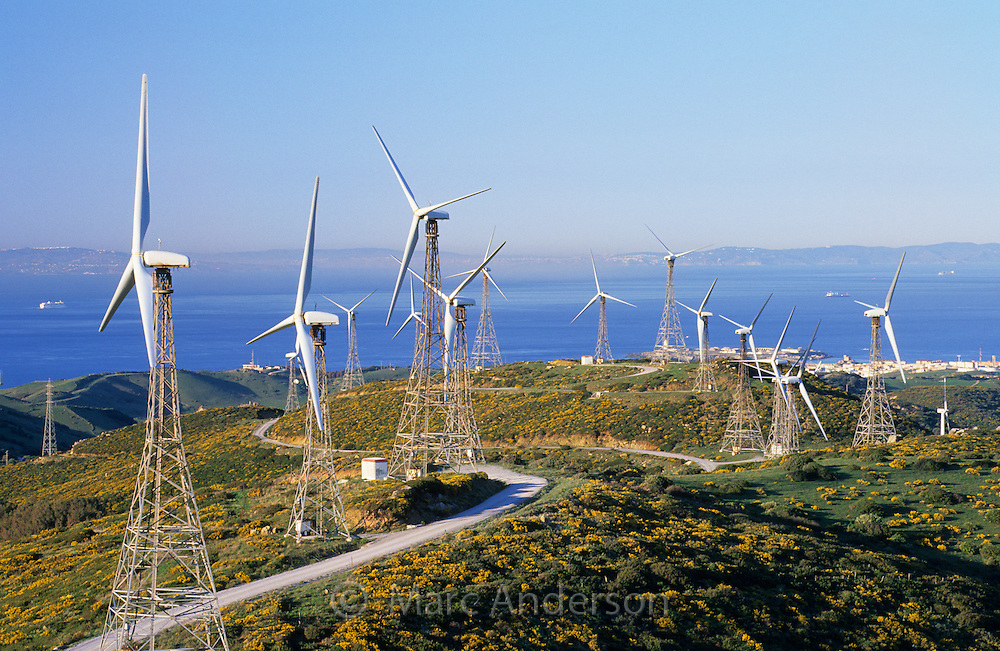 Windmills, Tarifa, Spain | Marc Anderson Photography