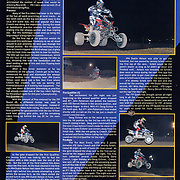 Images and an article of the 2005 Round #8 ITP Quadcross were featured on page 55 in Desert Sports and Recreation Magazine Volumn 1, Issue 6