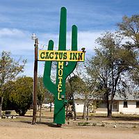 Cactus Inn Motel, Route 66,  McLean, Texas. .A September 2011 Route 66 trip, section 2,  from Joplin, Missouri to San Jon, New Mexico.