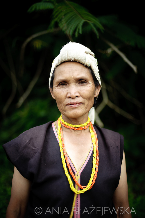 Thailand, Mae Sariang. Portrait of Karen woman from a small village situated in Mae Sariang area, near the Burmese border.