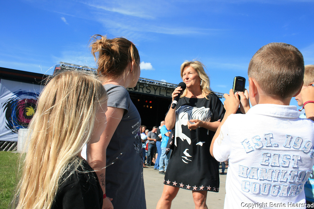 Elisabeth Andreassen (Bettan), Tydalsfestivalen 2010.