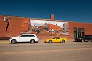 Wilsall, Montana, mural, Gary Kerby