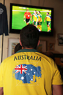 World Cup 2010 watched  on London TV<br /> Australia v Ghana at Bar Kick, Shoreditch