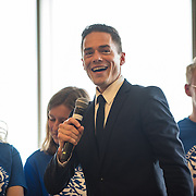 Public choral performance of high school and Gonzaga choirs in Hemmingson Ballroom.