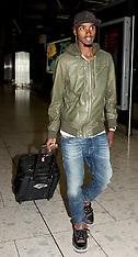 APR 08 2014 Mo Farah arrives at Heathrow Airport