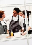 Francesco Mazzei, head chef of L'Anima - Taste of London 2010
