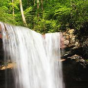 &quot;Falling Light&quot;<br /> <br /> Beautiful Cucumber Falls in Ohiopyle PA.
