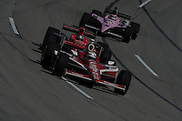 Scott Dixon, Marco Andretti, JR Hildebrand, Kentucky Indy 300, Kentucky Speedway, Sparta, KY USA 10/2/2011