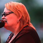 Grammy Award-winning vocalist and pianist Diane Schuur Performs in front of a large crowd at the 26th annual duPont Clifford Brown Jazz Festival Wednesday, June 18, 2014, at Rodney Square Park in Wilmington, DEL.    <br /> <br /> &ldquo;The Clifford Brown Jazz Festival is a staple of Wilmington&rsquo;s performing arts culture,&rdquo; said Mayor Dennis P. Williams. &ldquo;The City is excited to celebrate the 26th anniversary and I hope the community gets involved and enjoys all of the many activities the festival has to offer.&rdquo;