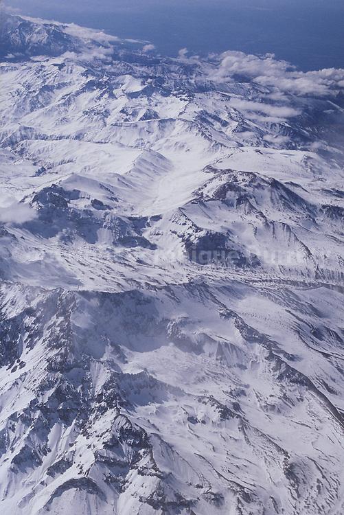 CORDILIERE DES ANDES, REGION DE SANTIAGO, CHILI
