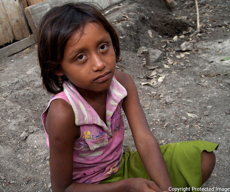 Mayan girl in San Pedro, Guatemala