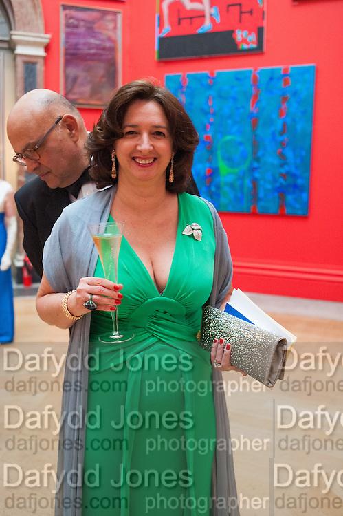JAKE SHAFRAN; MRS. JAKE SHAFRAN, Royal Academy of Arts Annual dinner. Piccadilly. London. 29 May 2012.