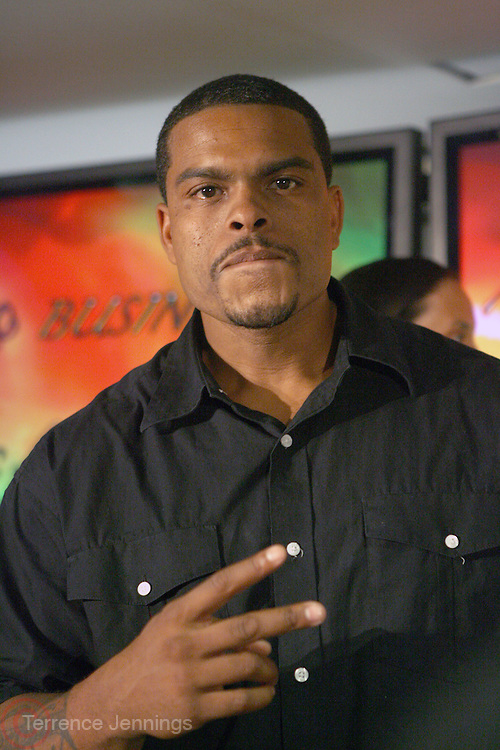 Benny Boom at the Fox King panel ' The Art of Music for Film ' at the 2008 American Black Film Festival held at The Sofitel Hotel on August  9, 2008 ..The Festival film slate is primarily composed of world premieres (shorts, narrative features and documentaries), positioning it as the leading film festival in the world for African American and urban content. Since its inception ABFF, has screened over 450 films and has rewarded and redefined artistic excellence in independent filmmaking.