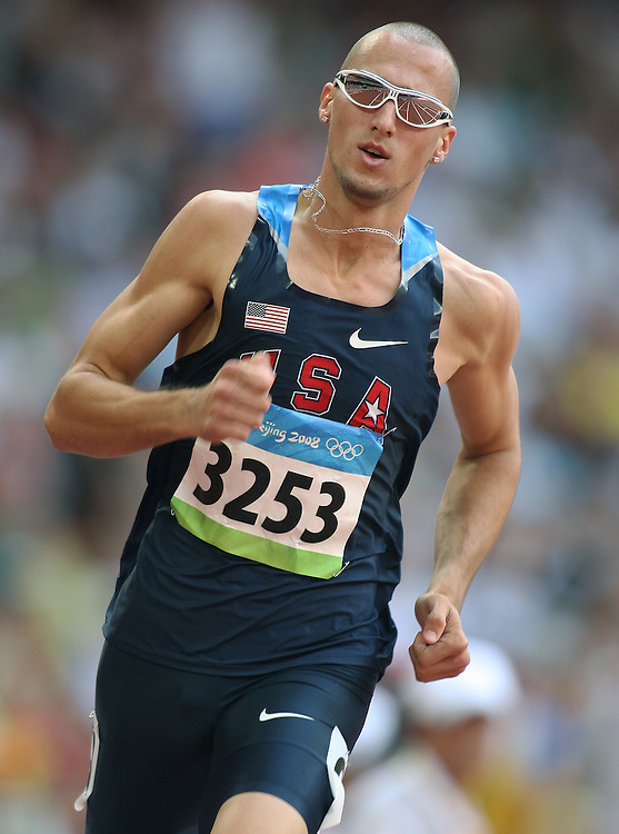 2008 Beijing Olympic Games- Day 4- Morning August 18th, 2008 *** Jeremy Wariner -- 400m, USA *** Day 4 Morning