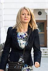 JUL 14 2014 Esther McVey arrives at Downing St