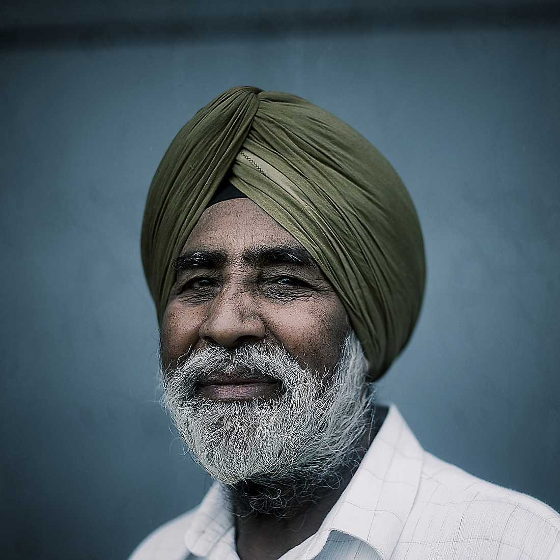 Name: Surjit Dehal.  Where they are from: New York City, New York. Reason for visiting: 30 years in Indian Air Force. — © Master Sgt. Jeremy Lock/