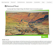 Cover image, National Trust Kinder restoration website