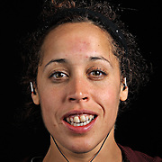Portrait of ultra marathon runner  Elizabeth Carrion from Fairlawn, NJ, moments after completing the Grind Stone 100 Mile ultra marathon in Swoope, VA, Friday, Oct. 04, 2008...Carrion completed the race in 24 hours, 44 minutes and 29 seconds...The Grindstone is the hardest 100 mile race east of the 100th meridian. ...