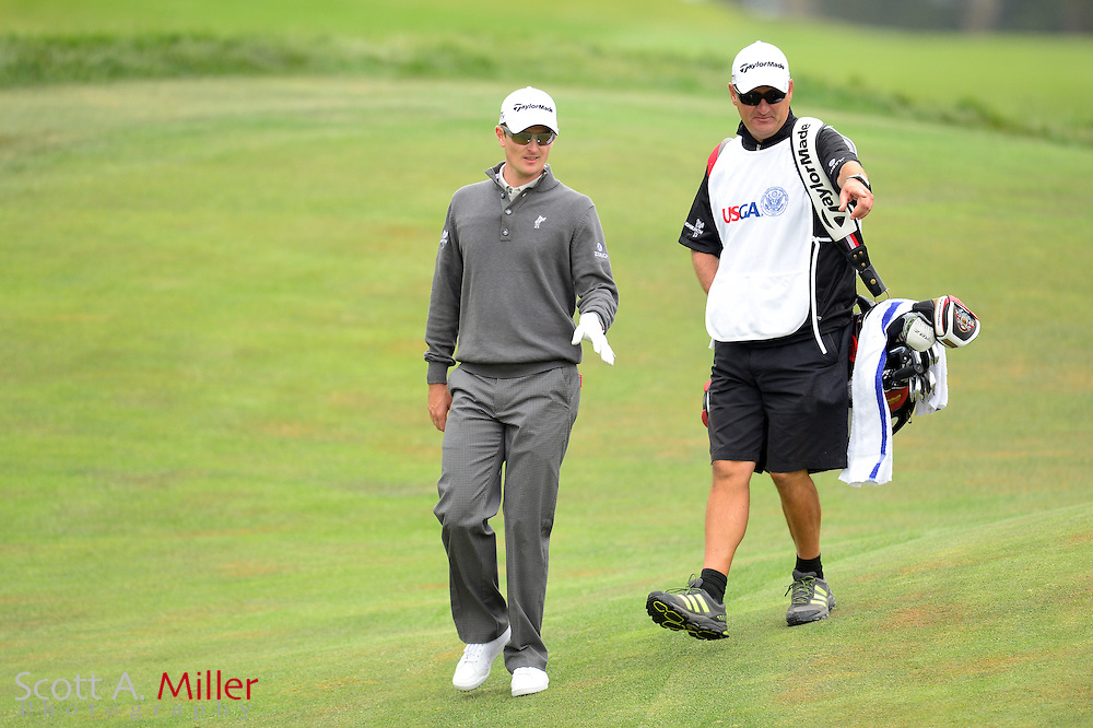 Justin Rose during the final round of the 112th U.S. Open at The Olympic Club on June 17, 2012 in San Fransisco. ..©2012 Scott A. Miller
